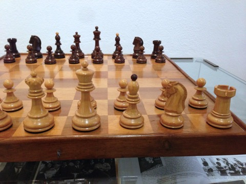 The dubrovnik chess set emotion of chess - The chessmen chess set ...